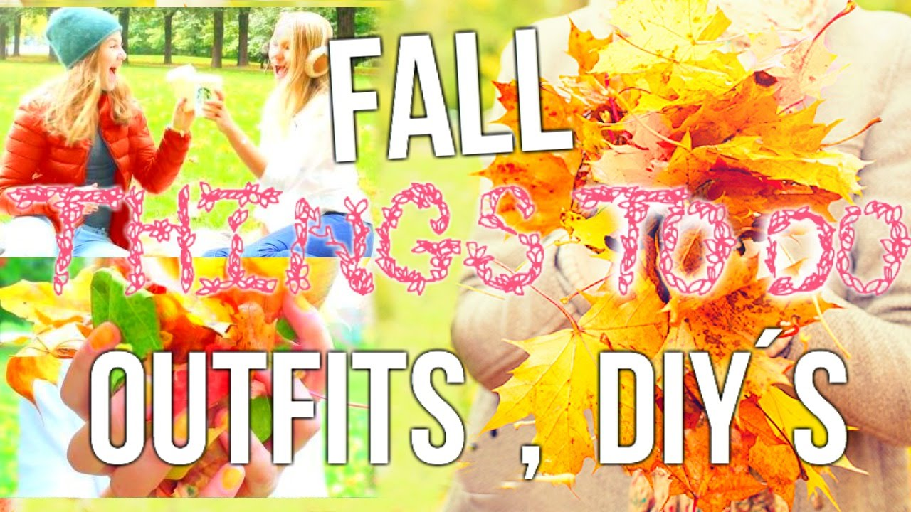 things to do this fall when bored diy fall decor snacks outfits youtube. Black Bedroom Furniture Sets. Home Design Ideas