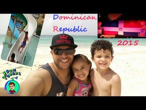 Dominican Republic !! Santo Domingo! Punta Cana Barcelo Premium Resort (IFunTubers TV Family Trip)