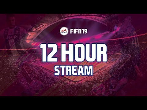 12 HOUR FIFA 19 STREAM (12,000 FIFA POINTS) 😍 | DIVISION RIVALS, DRAFTS + SBC'S 🎮