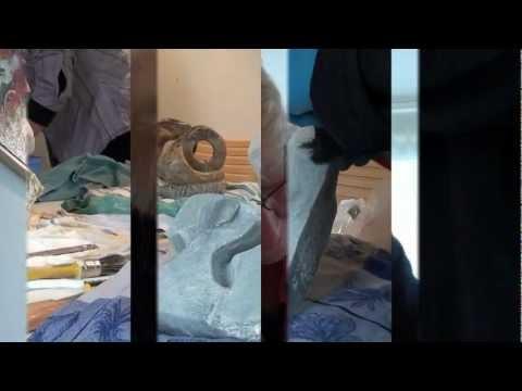 Speksteen beelden maken - wintercursus 2012