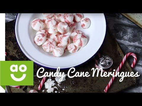 Vegan/ Gluten Free Candy Cane Meringues | ao.com