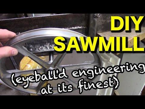 Building a Bandsaw Sawmill