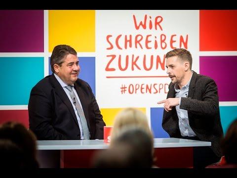 Klaas Heufer-Umlauf im Gespräch mit Sigmar Gabriel