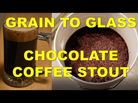 How to Brew a Chocolate Coffee Stout! | Grain to Glass
