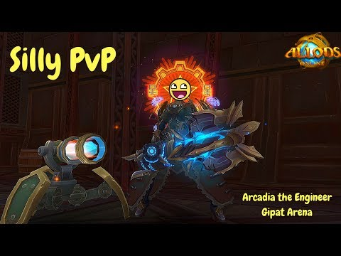 Arcadia the Engineer - Silly Pvp in Gipat Arena| Allods Online 8.0.1