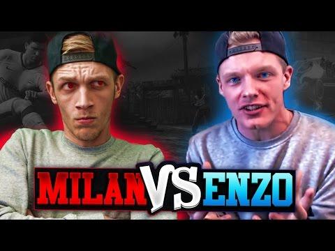 MILAN vs ENZO - BEST OF 3 CHALLENGE!