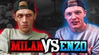 MILAN vs ENZO - BEST OF 3 CHALLENGE!