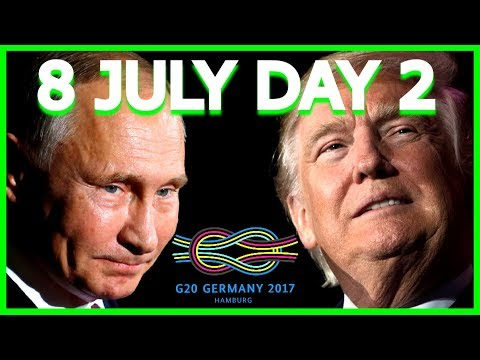 DAY 2: President Donald Trump G20 Summit Speech, Putin Meeting, Press Conference, Hamburg Germany 17