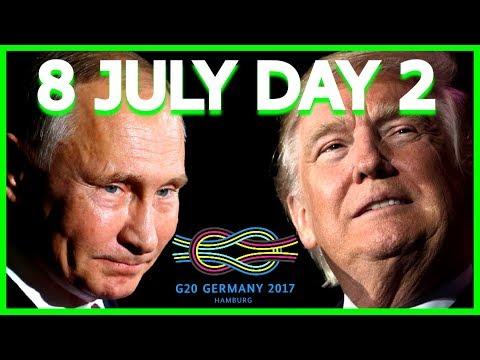 LIVE: President Donald Trump G20 Summit Speech, Putin Meeting, Press Conference, Hamburg Germany 17