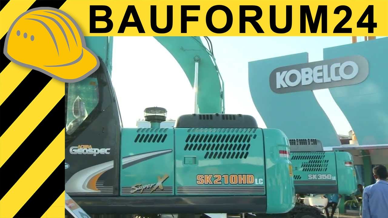 Kobelco Excavators in India - Walkaround & Interview bC India 2013 Report