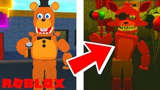 Becoming Freddy and Foxy in Roblox Fredbears and Friends Reboot