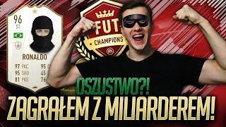 ZOSTAŁEM OSZUKANY & ZAGRAŁEM Z MILIARDEREM w FUT CHAMPIONS! FIFA 19 ULTIMATE TEAM!