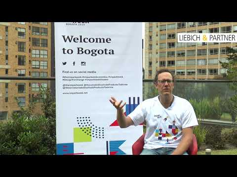 Tomas about Design Thinking - Impact Week Bogota 2018