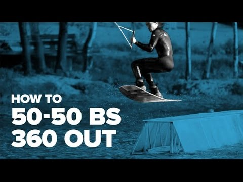 How to 50-50 bs 360 out on wakeboard