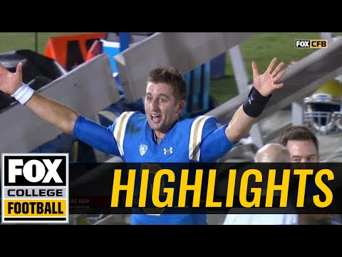 Texas A&M vs UCLA | Highlights | FOX COLLEGE FOOTBALL