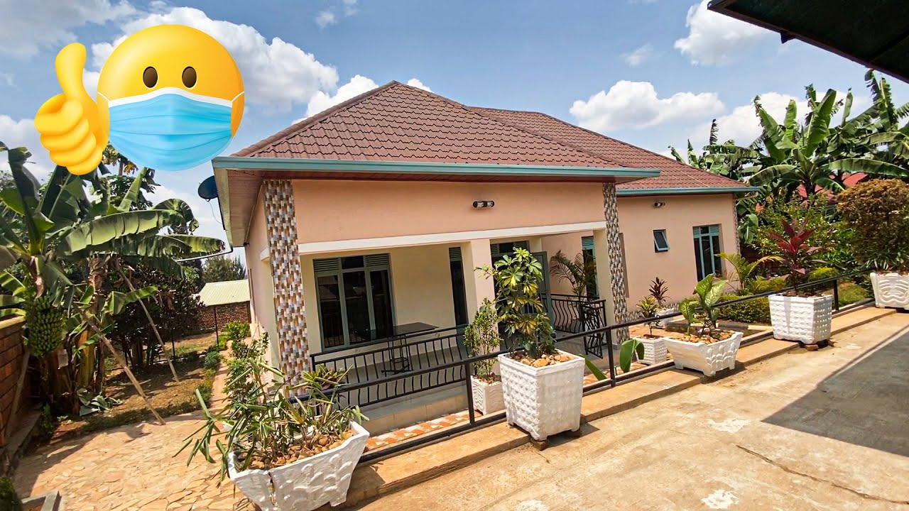 Couple looking at Houses 3 | 4 bedroom house with fruit trees😮 🌴| Kigali Rwanda,