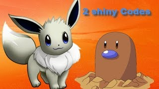 Roblox Project Pokemon // 2 New Shiny Codes // Free Shiny Eevee & Shiny Diglett #8
