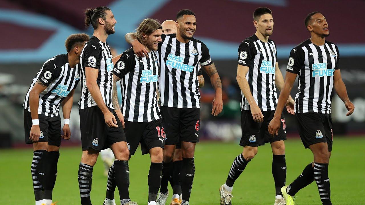 West Ham United 0 Newcastle United 2 | Premier League Highlights