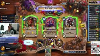 Thijs is very high with Murloc paladin (Journey to Un'Goro)