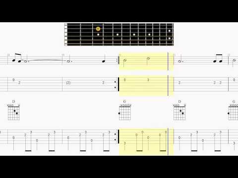 Guitar Tab   Long Black Veil   Guitar Fingerpicking Chords