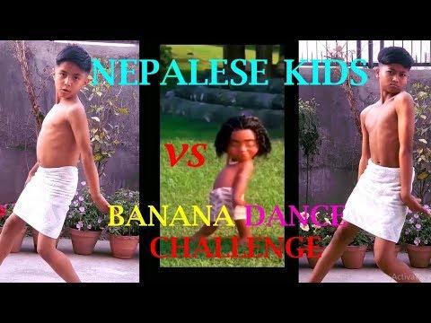 Nepalese Kids vs Banana Dance Challenge - ASquare Crew - Musically Compilation 2018 | Abhay n Aayush