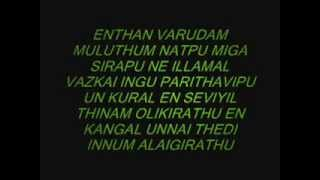 NEE PIRINDHA NAAL WITH LYRICS IN HQ