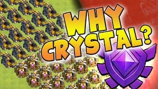 "Clash of Clans: ""WHY FARM IN CRYSTAL?"" THE SEARCH FOR THE HOLY GRAIL CONTINUES"