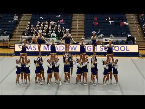 EAST MEADOW JETS VARSITY CHEER **COUNTY CHAMPS 2018 2019**