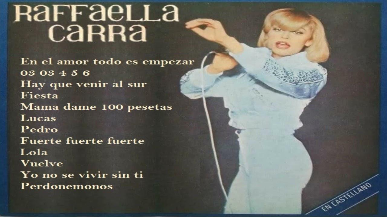 RAFFAELLA CARRA - EN CASTELLANO