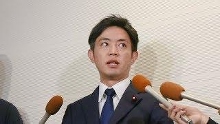 「私が今井絵理子氏に交際迫った」 神戸市議の橋本健氏がコメントを出し会見 thumbnail