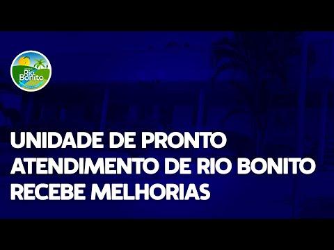 UNIDADE DE PRONTO ATENDIMENTO DE RIO BONITO RECEBE MELHORIAS