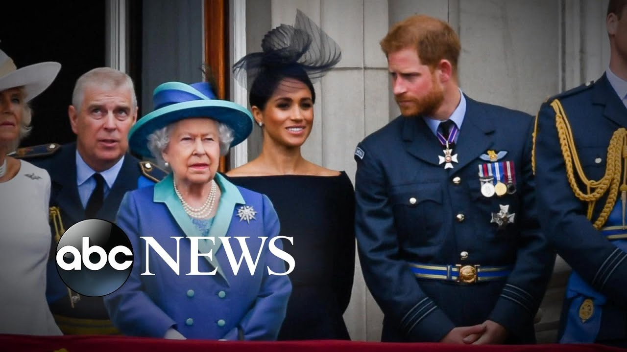 The Royal family in crisis mode after Prince Harry and Meghan Markle defy the Queen
