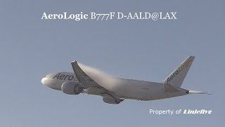 Condensation- AeroLogic B777F