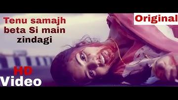 Tenu Samajh Beta Si Main Zindagi || Edit Video || instagram.com/vikashkumar_official
