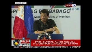 Banat ni Pres. Duterte sa umano'y ulat na gusto raw siyang ipapatay ng CIA ng Amerika: 'Go ahead'