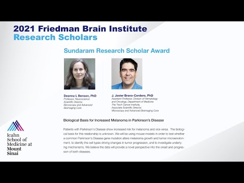 FBI Research Scholars: Deanna L Benson, PhD and J. Javier Bravo-Cordero, PhD