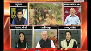 APN Mudda: Rtrd Major General SP Sinha speaks on the ways to search naxalites in dense forest
