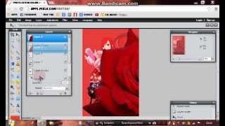 Tutorial How Make Simple Wattpad Anime Book Cover Pixlr