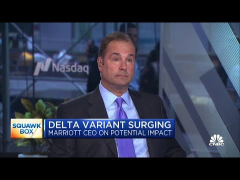 Marriott CEO: Business travel is still lagging behind leisure