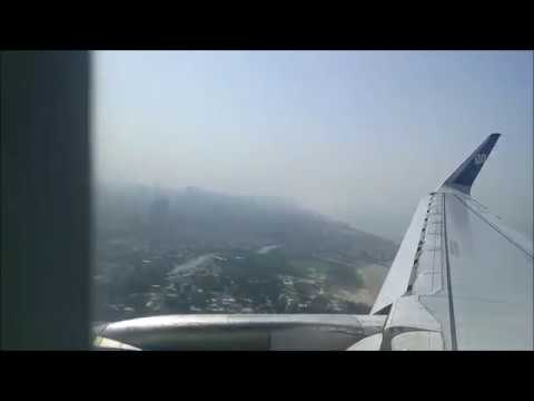 Flight from Andaman | Port Blair | to Mumbai | GoAir Flight