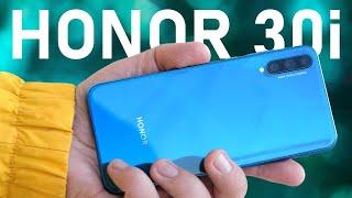Хитяра от HonorОбзор Honor 30i