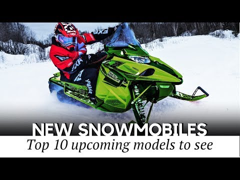 10 Upcoming Snowmobiles For 2020-2021 Winter Seasons (New And Best-Selling Models)