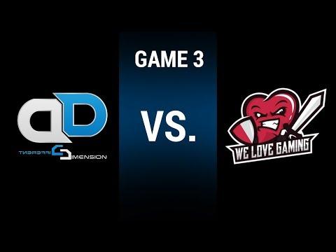 LGC Season 3 Week 2 | Different Dimension eSports vs. WLGaming Esports (Game 3)