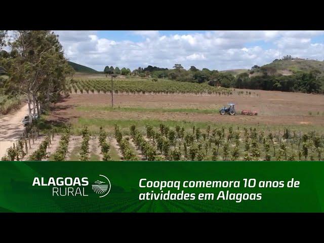 Coopaq comemora 10 anos de atividades em Alagoas