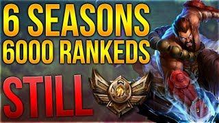 6000 Ranked Games in 6 Seasons und STILL BRONZE ELO? [League of Legends] [Deutsch / German]