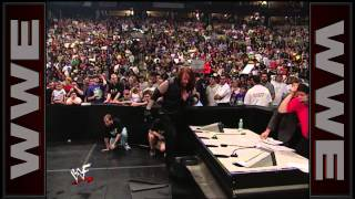 Triple H, Mr. McMahon & Shane McMahon vs. The Rock, The Undertaker & Kane - WWE Championship Six-Man