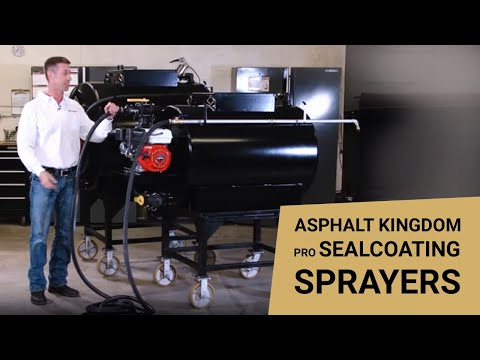 Asphalt Kingdom Pro Sealcoating Sprayers