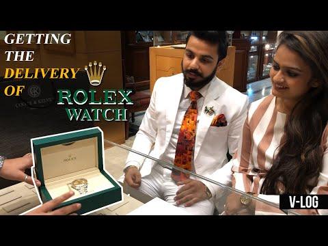 8,00,000 Ki Ghadi! | Getting The Delivery Of New Rolex Watch! | Luxury Watches | Pushkar Raj Thakur