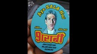 Sharaabi_  Jaha Char Yaar Mil Jaye Wahi Raat Ho Gulzaar | Rajkumar yadav entertainer |