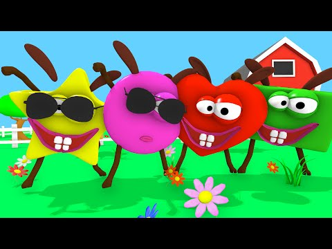 Shape song - Learn shapes with this nursery rhyme!